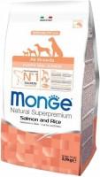Корм для собак Monge Speciality All Breed Puppy/Junior Salmon/Rice 0.8кг