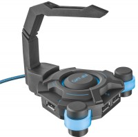 Картридер/USB-хаб Trust GXT 213