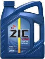 Моторное масло ZIC X5000 10W-40 4л