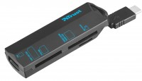 Картридер/USB-хаб Trust USB-C Cardreader