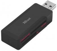Картридер/USB-хаб Trust MRC-110