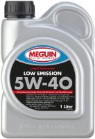 Моторное масло Meguin Low Emission 5W-40 1л