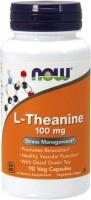 Фото - Амінокислоти Now L-Theanine 90 cap