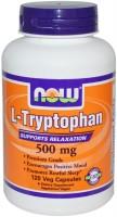 Фото - Амінокислоти Now L-Tryptophan 500 mg 120 cap