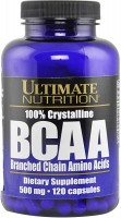 Фото - Аминокислоты Ultimate Nutrition 100% Crystalline BCAA 120 cap