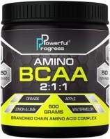 Фото - Аминокислоты Powerful Progress Amino BCAA 2-1-1 500 g