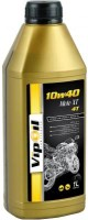 Моторное масло VipOil Moto XT 4T 10W-40 1L 1л