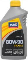 Фото - Трансмиссионное масло Yukoil Trans 80W-90 1L 1л