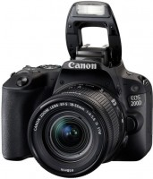 Фото - Фотоаппарат Canon EOS 200D  kit 18-135