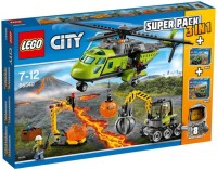 Фото - Конструктор Lego City Volcano Value Pack 66540