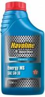 Моторное масло Texaco Havoline Energy MS 5W-30 1л