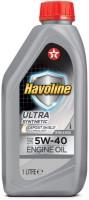 Моторное масло Texaco Havoline Ultra 5W-40 1л