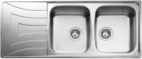 Кухонная мойка Teka Universo 2C 1E 1160x500мм