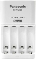 Фото - Зарядка аккумуляторных батареек Panasonic Eneloop Smart-Quick BQ-CC55E