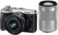 Фотоаппарат Canon EOS M6 kit 15-45 + 55-200