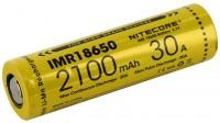 Аккумуляторная батарейка Nitecore IMR18650  2100 mAh 20 A