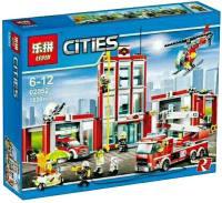 Фото - Конструктор Lepin Fire Station 02052