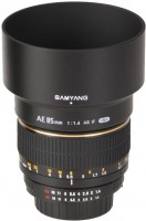 Объектив Samyang 85mm f/1.4 Aspherical IF AE