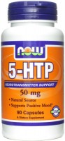 Фото - Аминокислоты Now 5-HTP 50 mg 90 cap
