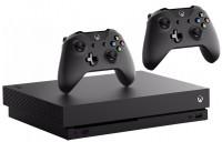 Игровая приставка Microsoft Xbox One X + Gamepad + Game