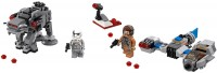 Фото - Конструктор Lego Ski Speeder vs. First Order Walker Microfighters 75195