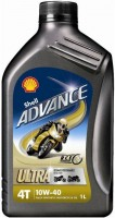 Моторное масло Shell Advance 4T Ultra 10W-40 1L