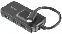 Картридер/USB-хаб Trust Oila