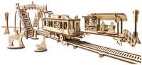 3D пазл UGears Tram Line