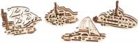 3D пазл UGears Fidget Ships