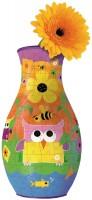 3D пазл Ravensburger Vase Owls 120505