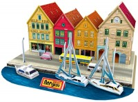 3D пазл CubicFun Bergen Norway C183h
