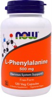 Фото - Амінокислоти Now L-Phenylalanine 120 cap