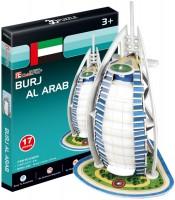 Фото - 3D пазл CubicFun Mini Burj Al Arab S3007h