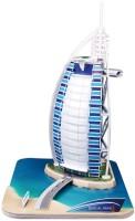 3D пазл CubicFun Burj Al Arab C065h
