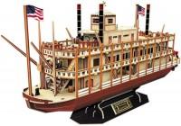 3D пазл CubicFun Mississippi Steamboat T4026h
