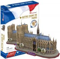 3D пазл CubicFun Notre Dame De Paris MC054h