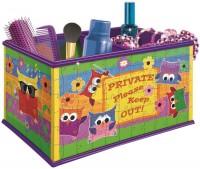 3D пазл Ravensburger Storage Box Owls 121052