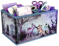 3D пазл Ravensburger Storage Box Animals 120840