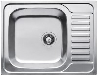 Фото - Кухонная мойка Fabiano Steel 65x50
