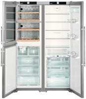 Холодильник Liebherr SBSes 7165 нержавеющая сталь