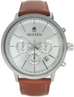 Фото - Наручные часы Nexxen NE9903CHM PNP/SIL/BRN