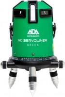 Нивелир / уровень / дальномер ADA 6D SERVOLINER GREEN 10м, кейс