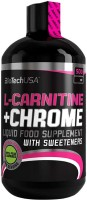 Спалювач жиру BioTech L-Carnitine/Chrome 500 ml 500мл