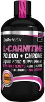 Сжигатель жира BioTech L-Carnitine 70000/Chrome 500 ml 500мл