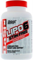 Сжигатель жира Nutrex Lipo-6 Stim Free 120 cap 120шт