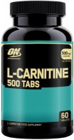 Сжигатель жира Optimum Nutrition L-Carnitine 500 60 tab 60 шт