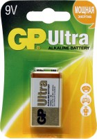 Фото - Аккумуляторная батарейка GP Ultra Alkaline 1xKrona
