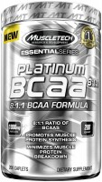 Фото - Амінокислоти MuscleTech Platinum BCAA 8-1-1 200 cap