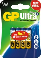 Фото - Аккумулятор / батарейка GP Ultra Plus  4xAAA