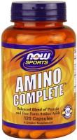 Фото - Аминокислоты Now Amino Complete Caps 120 cap